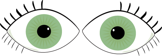Eyes kids. Clip art for clipart