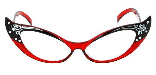 Rimless Cat S Eye Glasses