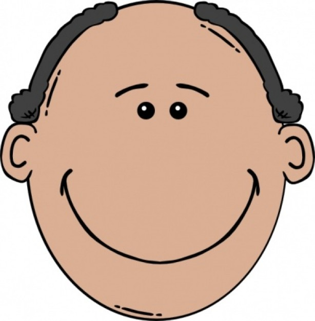 Bald Man Face Clipart | Clipart Panda - Free Clipart Images