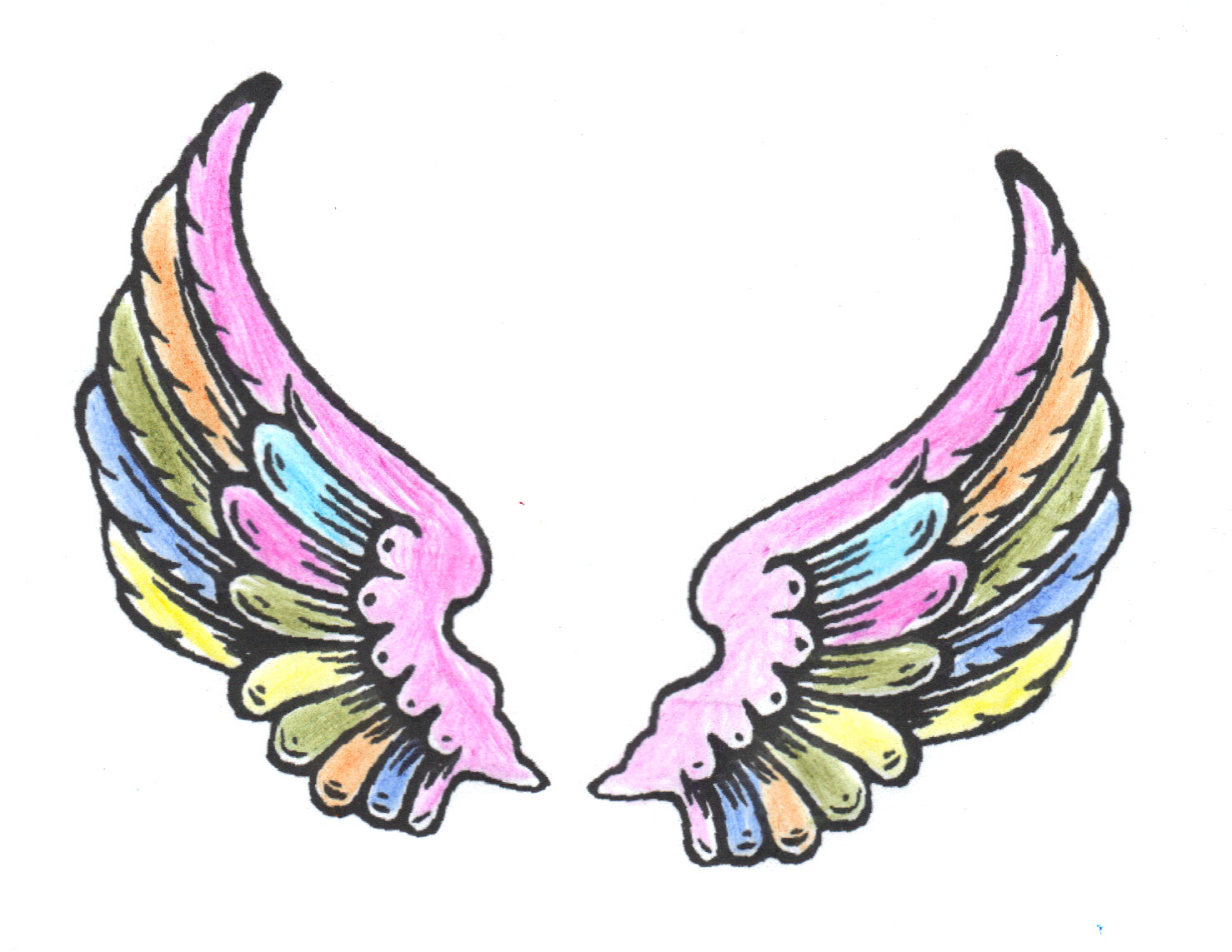 fairy wings template clipart panda free clipart images