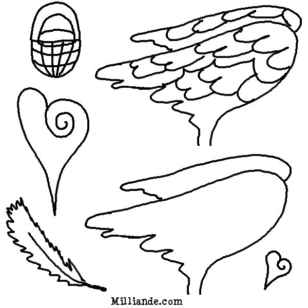 picture relating to Free Printable Fairy Wings known as Fairy Wings Template Clipart Panda - Free of charge Clipart Pictures