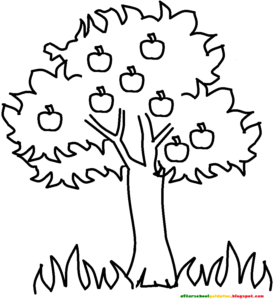 Free Coloring Pages Of The Tree Rings