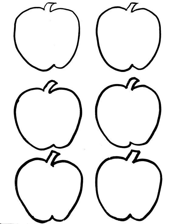 Fall Apples Coloring Pages | Clipart Panda - Free Clipart Images