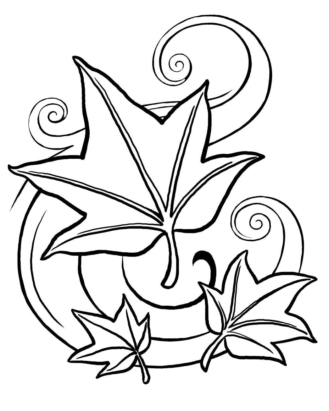 Fall coloring pages clipart panda free clipart images for Coloring pages for autumn