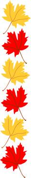 Free Clip Art Maple Leaf Border