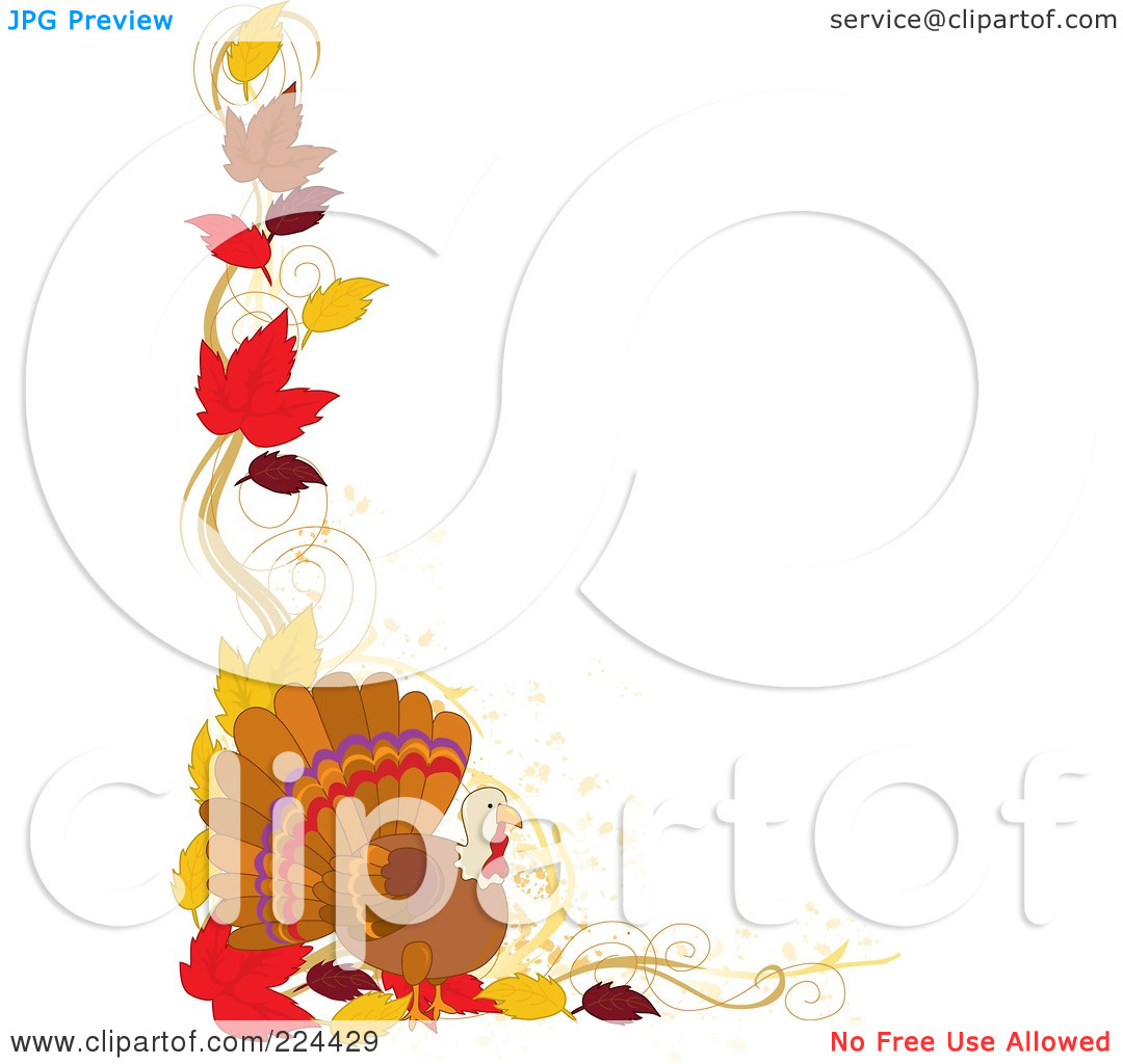 fall%20leaves%20clipart%20black%20and%20white%20border