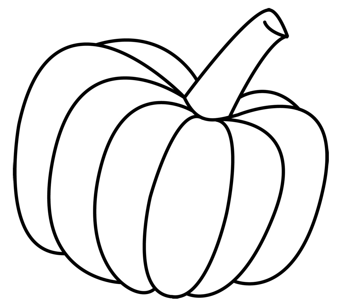 Pumpkin Vine Drawing | Clipart Panda - Free Clipart Images