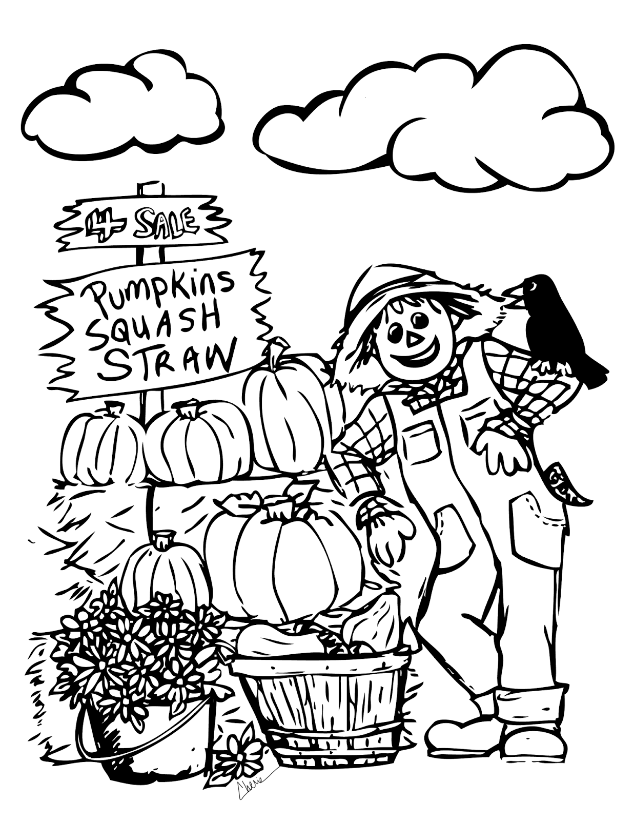 Fall Apples Coloring Pages Clipart Panda Free Clipart