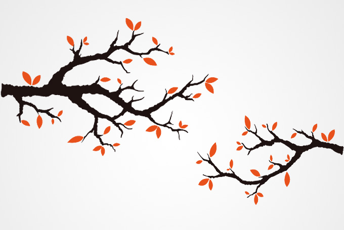 Fall Tree Branch Clip Art Images & Pictures - Becuo Cartoon Fall Tree With Branches