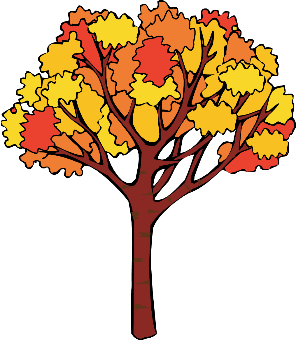 Cartoon Fall Tree - Viewing Gallery Cartoon Fall Tree With Branches