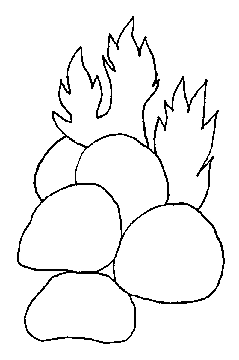 coloring pages stones - photo#4