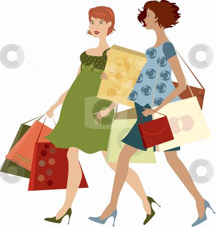 Woman Shopping Clipart Fallacy Clipart | Clip...