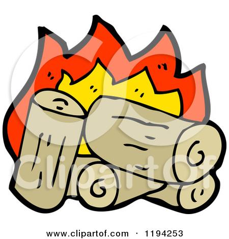Cartoon Of A Campfire