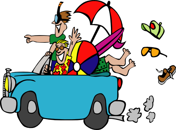 Family Car Trip | Clipart Panda - Free Clipart Images