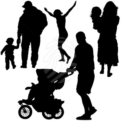 family-clip-art-family-silhouettes-real-people-picture-83963657 jpgFamily Walking Silhouette