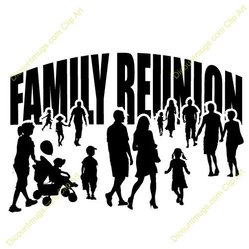 free clipart family reunion - photo #8