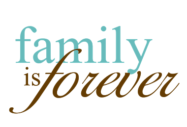 family is forever word art clipart panda   free clipart