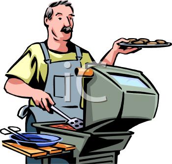 BBQ Clipart summer barbecue clipart picnic clip art bbq | Etsy