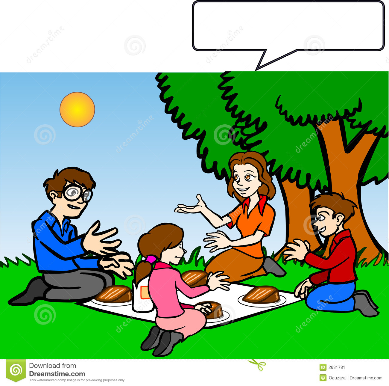 family picnic clipart - photo #8