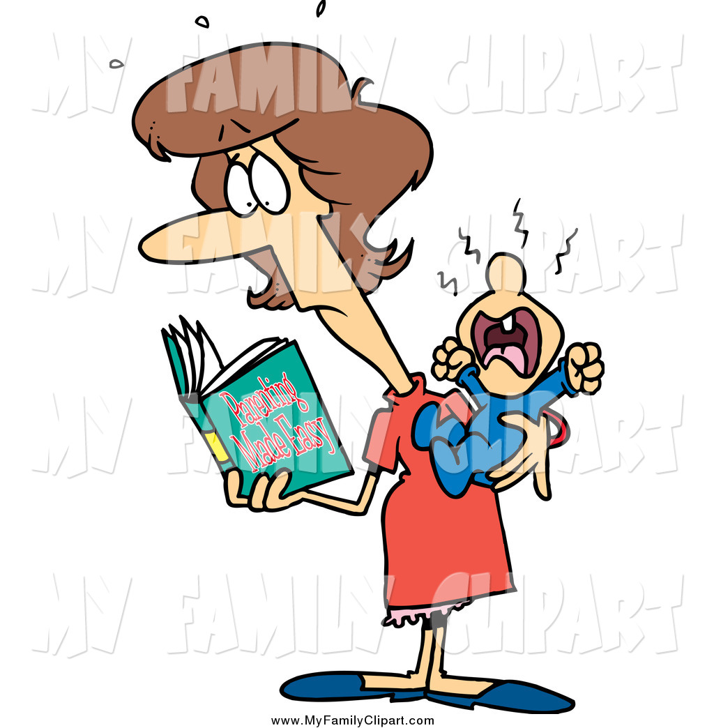 Family Reading Clip Art