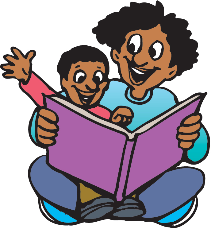 clipart family reading together - photo #2