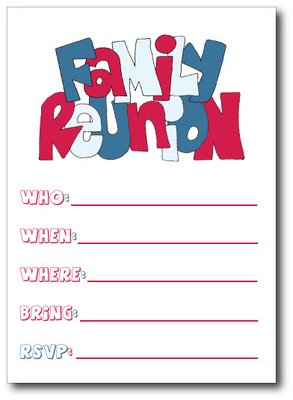 Family Reunion Invitation Templates Clipart Panda Free Clipart
