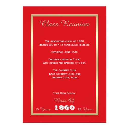 Family Reunion Invitation Templates – Reunion Invitation Template