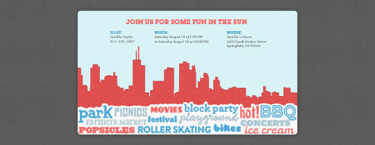 Bbq Party Invitation Templates Free – Block Party Invites