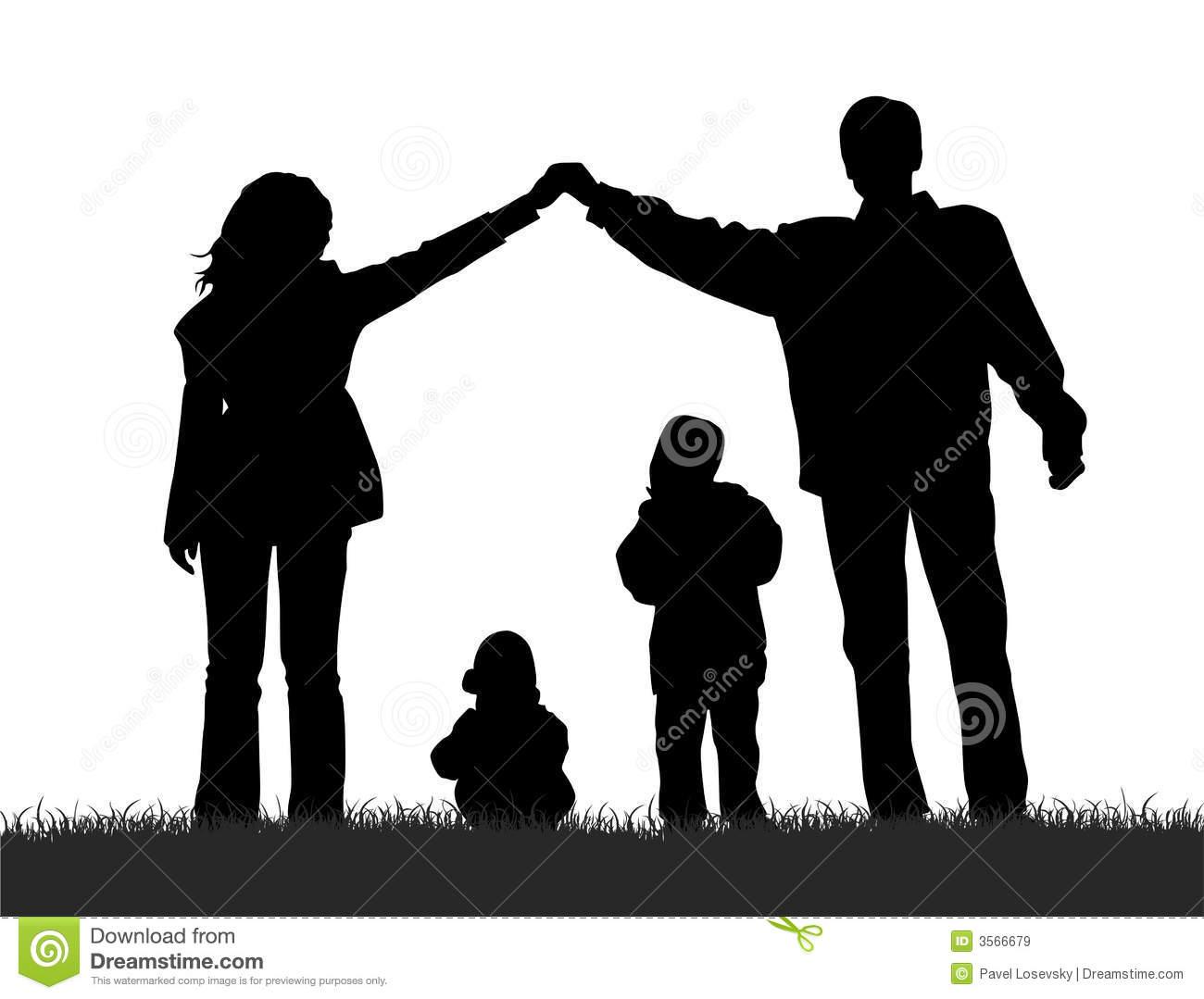 family silhouette clip art clipart panda free clipart images rh clipartpanda com