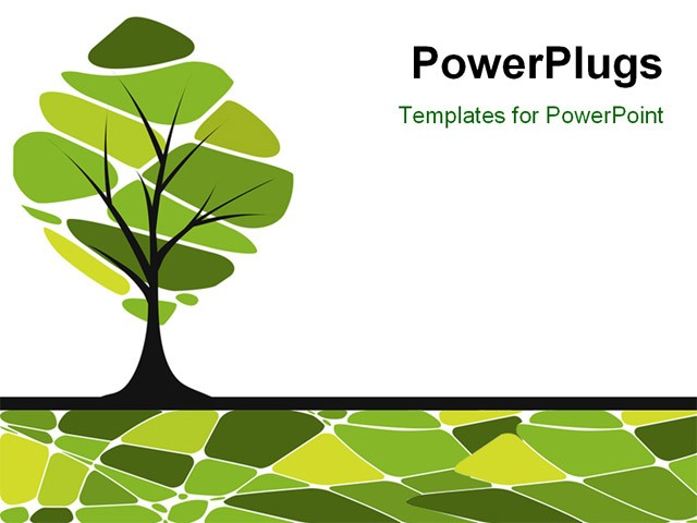 Tree Powerpoint Background Roho4senses