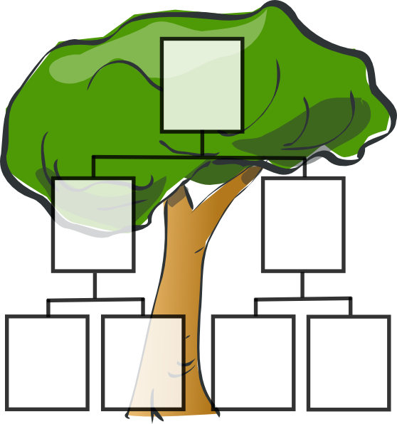Clip Art Family Tree Outline | Clipart Panda - Free Clipart Images