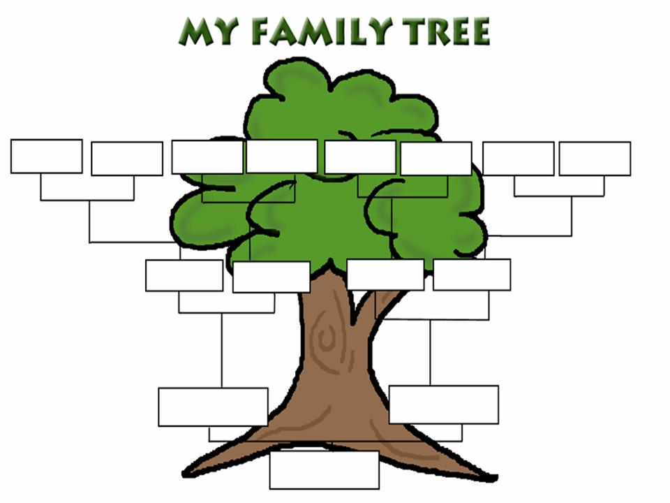 Family tree clipart clipart panda free clipart images for Interactive family tree template