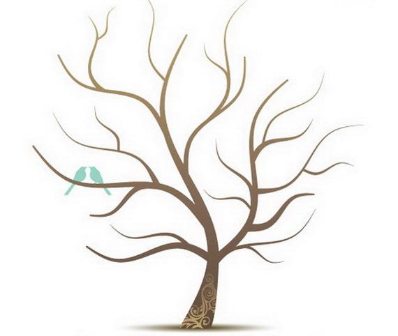 Деревья своими руками шаблоны