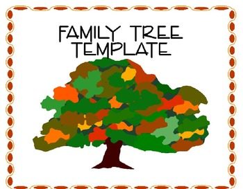family tree template clipart panda free clipart images. Black Bedroom Furniture Sets. Home Design Ideas