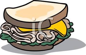 A Turkey Sandwich Royalty Clipart Panda Free Clipart Images