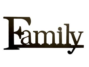 Family Word Clipart | Clipart Panda - Free Clipart Images