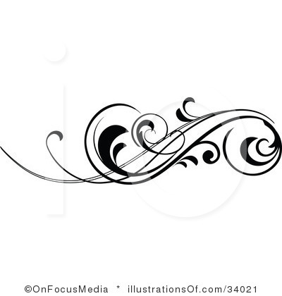 Fancy Blue Scroll Clip Art | Clipart Panda - Free Clipart ...