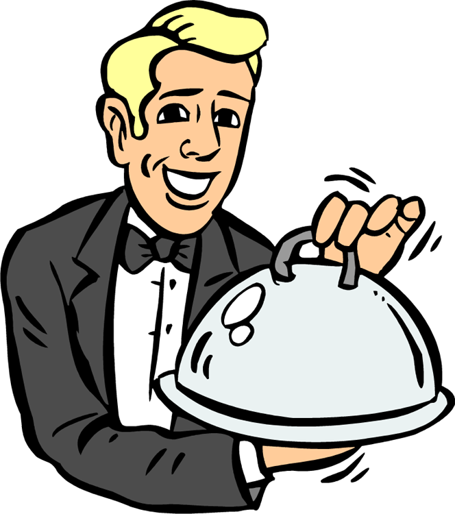 Fancy Dinner Table Clipart