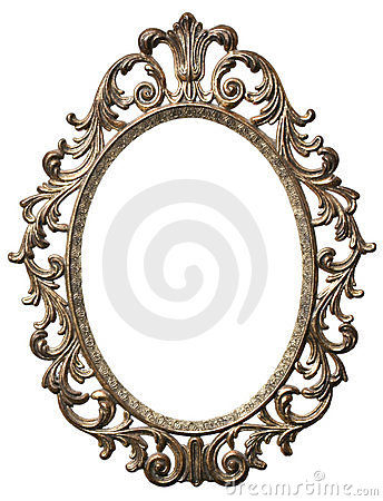 Fancy oval frame clip art clipart panda free clipart for Fancy oval mirror