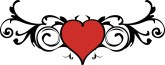 Fancy Red Heart Clipart | Clipart Panda - Free Clipart Images