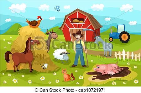 Farm Clip Art For Teachers | Clipart Panda - Free Clipart Images