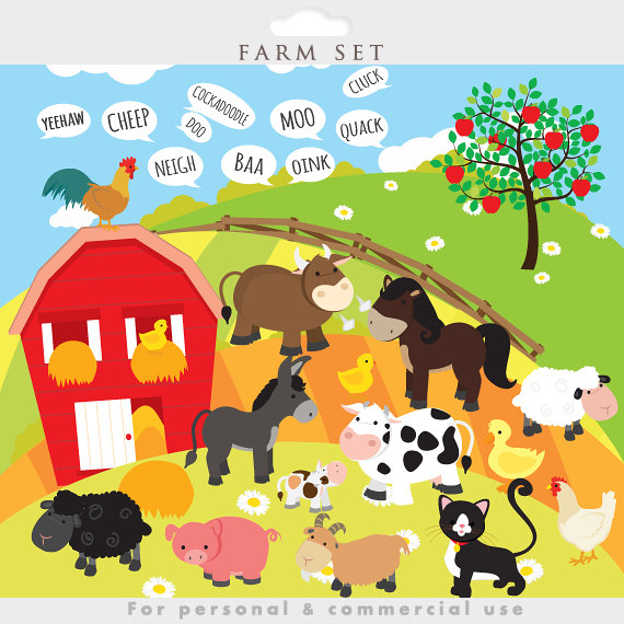 Farm Clip Art For Teachers | Clipart Panda - Free Clipart Images