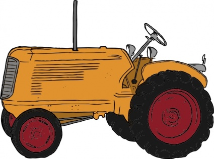 Tractor plowing clipart clipart panda free clipart images for Tractor art projects