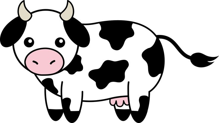 Clipart For Cow