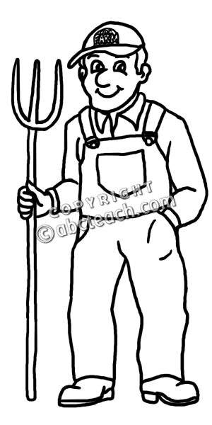 Farmer Clipart For Kids | Clipart Panda - Free Clipart Images