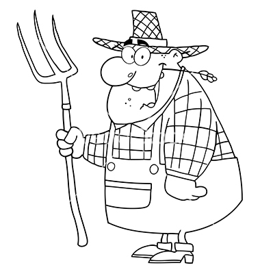clipart happy farmer man | Clipart Panda - Free Clipart Images