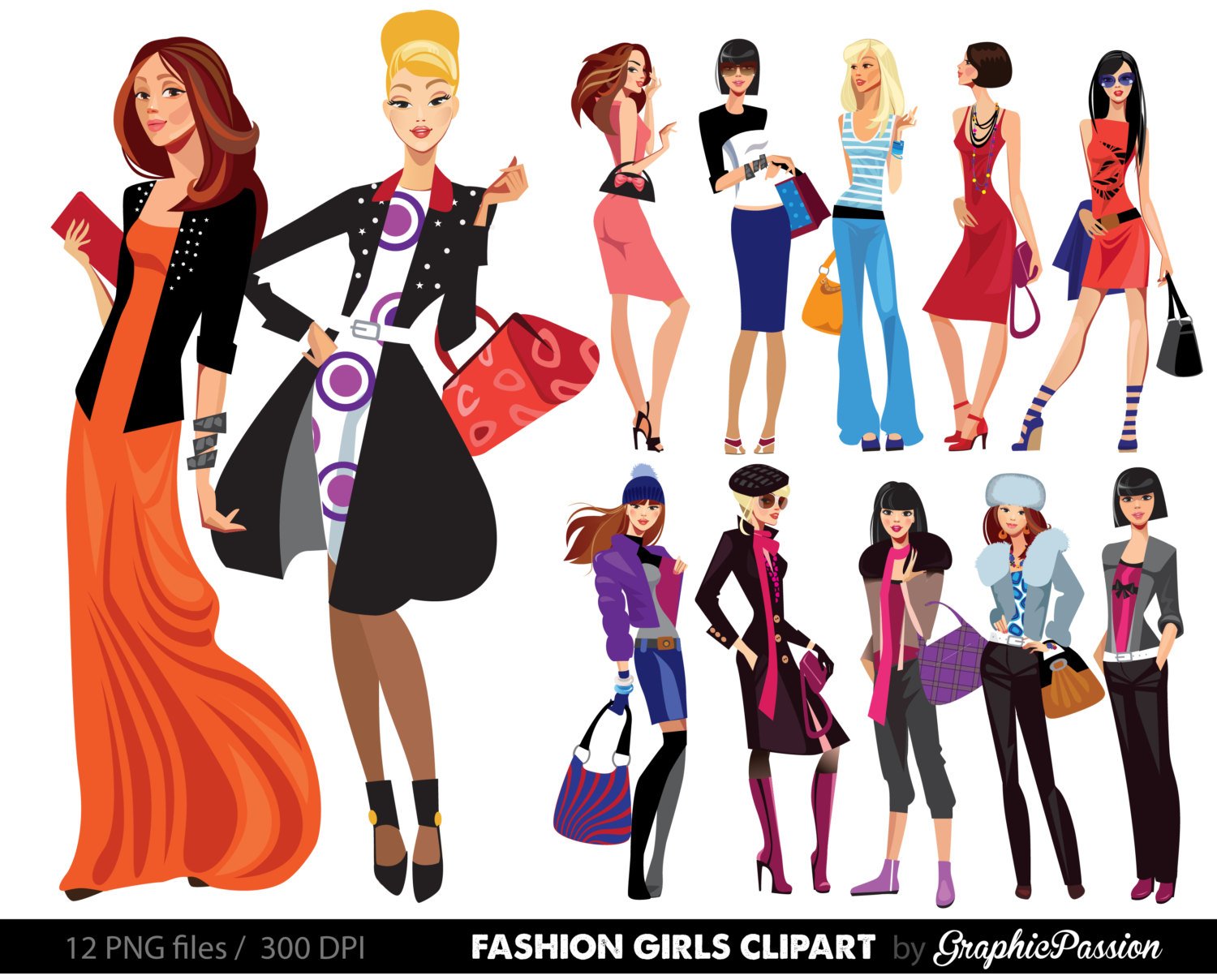 bb2d046fb83b Fashion Clipart Free