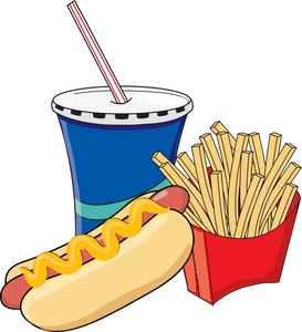 fast%20food%20clipart%20black%20and%20white