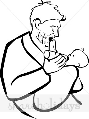 father%20and%20baby%20clipart