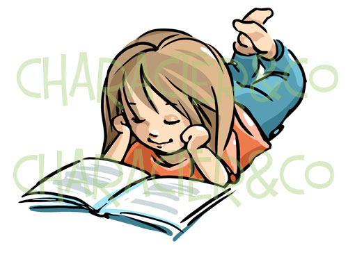 Little Girl Reading Clipart | Clipart Panda - Free Clipart ...